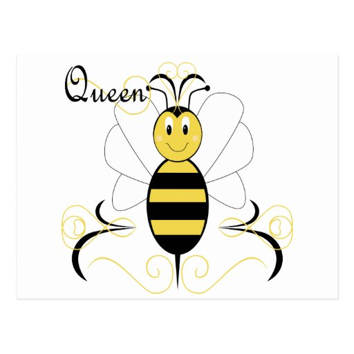 Queen Bee Template Smiling Bumble Bee Queen BeeQueen Bee Template