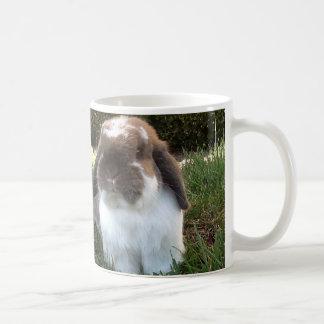 Smiling Bunny Coffee Mug