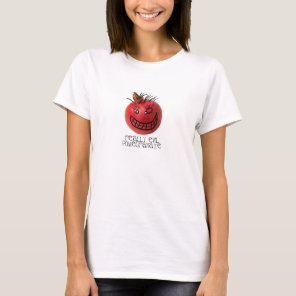 Smiling but really evil pomegranate T-Shirt