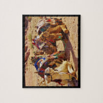 Smiling Camels Jigsaw Puzzle
