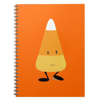 Smiling Candy Corn Notebook