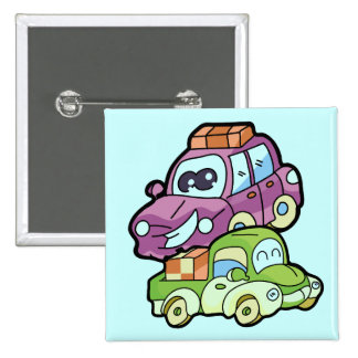 Smiling Car and Truck T-shirts and Gifts Pins