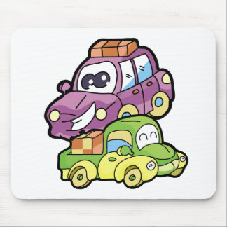 Smiling Car and Truck T-shirts and Gifts Mouse Pad