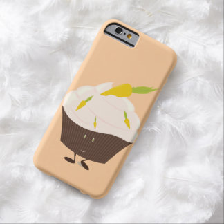 Smiling carrot cake cupcake barely there iPhone 6 case