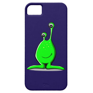 Smiling Cartoon Alien with Long Googly Eyes Case For iPhone 5/5S