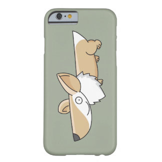 Smiling Cartoon Corgi Barely There iPhone 6 Case