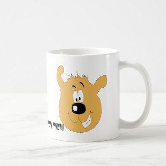 Smiling Cartoon Dog Coffee Mug