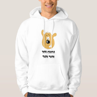 Smiling Cartoon Dog Hoodie