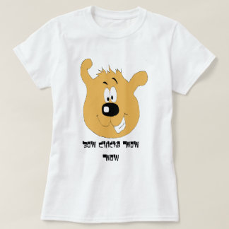 Smiling Cartoon Dog T-Shirt