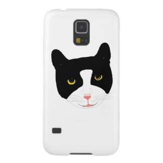 Smiling Cat Face Galaxy S5 Case