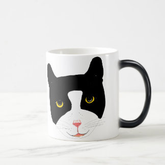 Smiling Cat Face on mugs