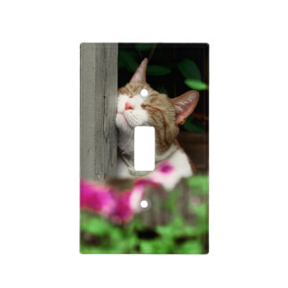 Smiling Cat Light Switch Cover