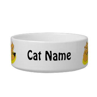 Smiling Cat Pet Bowl