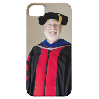 Smiling Caucasian profession in formal robe iPhone 5 Case