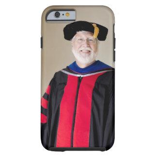 Smiling Caucasian profession in formal robe Tough iPhone 6 Case
