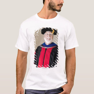 Smiling Caucasian profession in formal robe T-Shirt