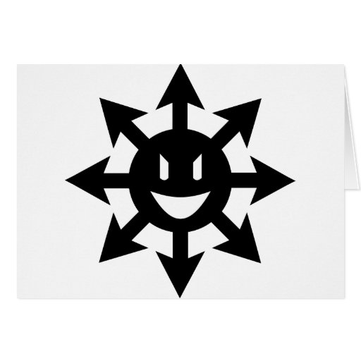 smiling chaos star card
