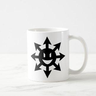 Smiling chaos star classic white coffee mug