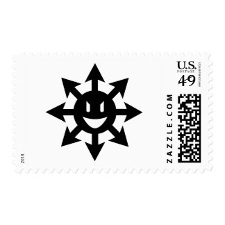 smiling chaos star stamps