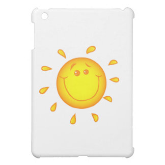 SMILING CHEERFUL SUNSHINE SUN HAPPY SUMMER COVER FOR THE iPad MINI