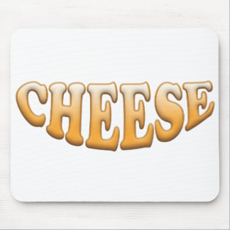 Smiling Cheese: Personalise Mouse Pad