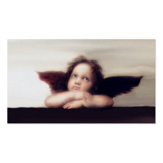 Smiling Cherub Angel Boy Business Card