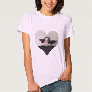 Smiling Cherub Angel Tee Shirt