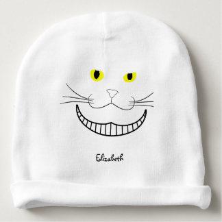 Smiling Cheshire Transparent Cat Beanie