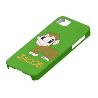 Smiling Chimp iPhone 5 Cover Template