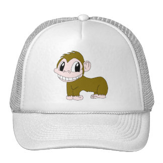 Smiling Chimpanzee Hat