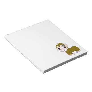 Smiling Chimpanzee Notepad
