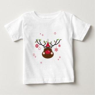 Smiling Christmas Reindeer Shirts