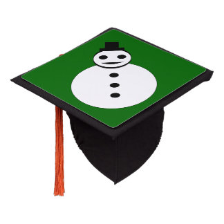 Smiling Christmas Snowman Topper