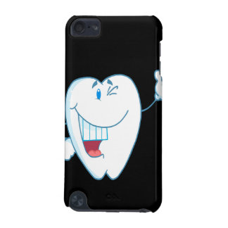 Smiling Clean Tooth Cartoon Character Thumbs Up.ai iPod Touch (5th Generation) Covers