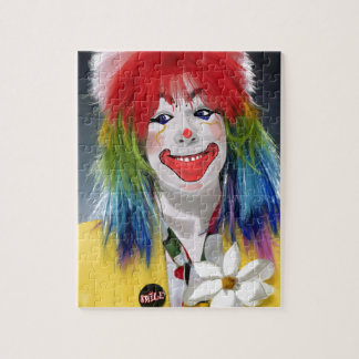 Smiling Clown Jigsaw Puzzle