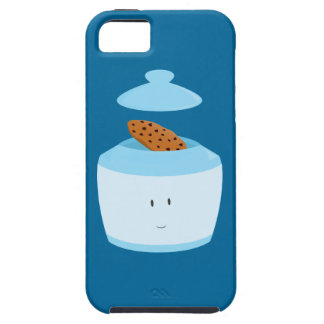 Smiling cookie jar with cookie inside iPhone SE/5/5s case
