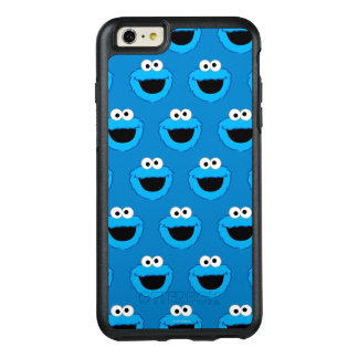 Smiling Cookie Monster Pattern OtterBox iPhone 6/6s Plus Case