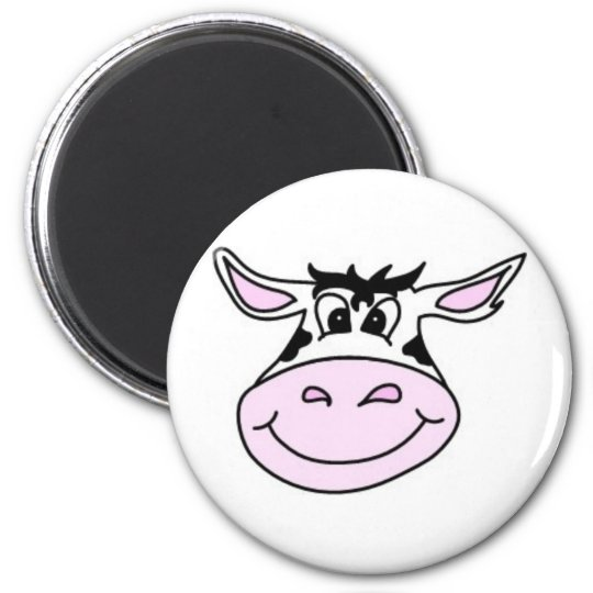 Smiling Cow Magnet