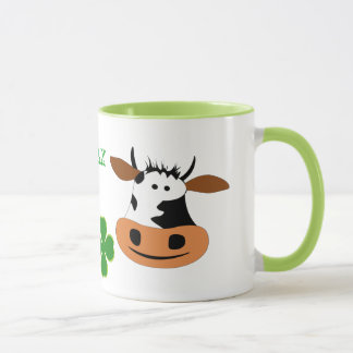Smiling cow mug