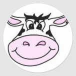 Smiling Cow Sticker