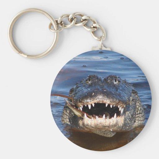 Smiling Crocodile Key Chain