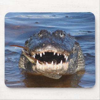 Smiling Crocodile Mouse Pad
