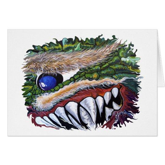 Smiling Cycloptic Dragon Card