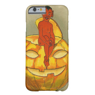 Smiling Devil Jack O' Lantern Pumpkin Barely There iPhone 6 Case