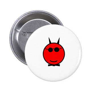 Smiling Devil Pinback Button