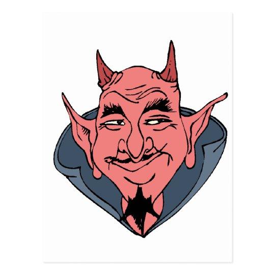 Smiling Devil Postcard