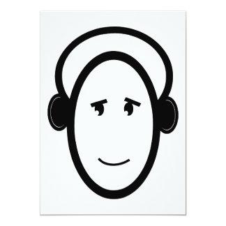 Smiling DJ Card