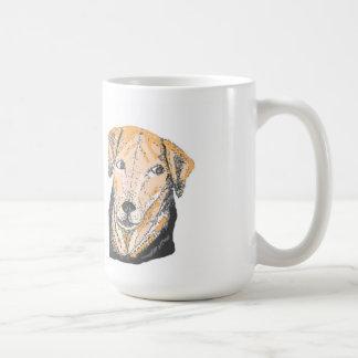 Smiling Dog on Mug