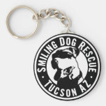 Smiling Dog Rescue Keychains