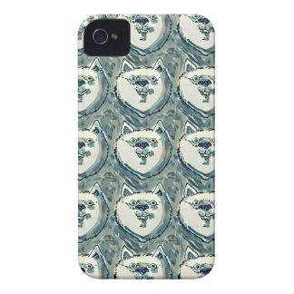 smiling dog tiled Case-Mate iPhone 4 case
